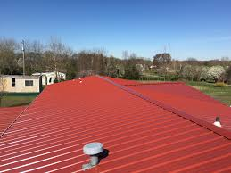 Metal Roofs require little maintenance